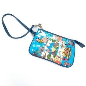 Disneyland Resort wristlet coin purse wallet